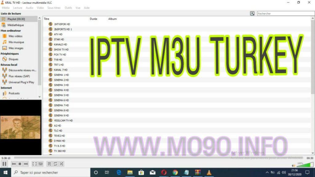 iptv m3u turkey 2021 güncel iptv linkleri 21/05/2021